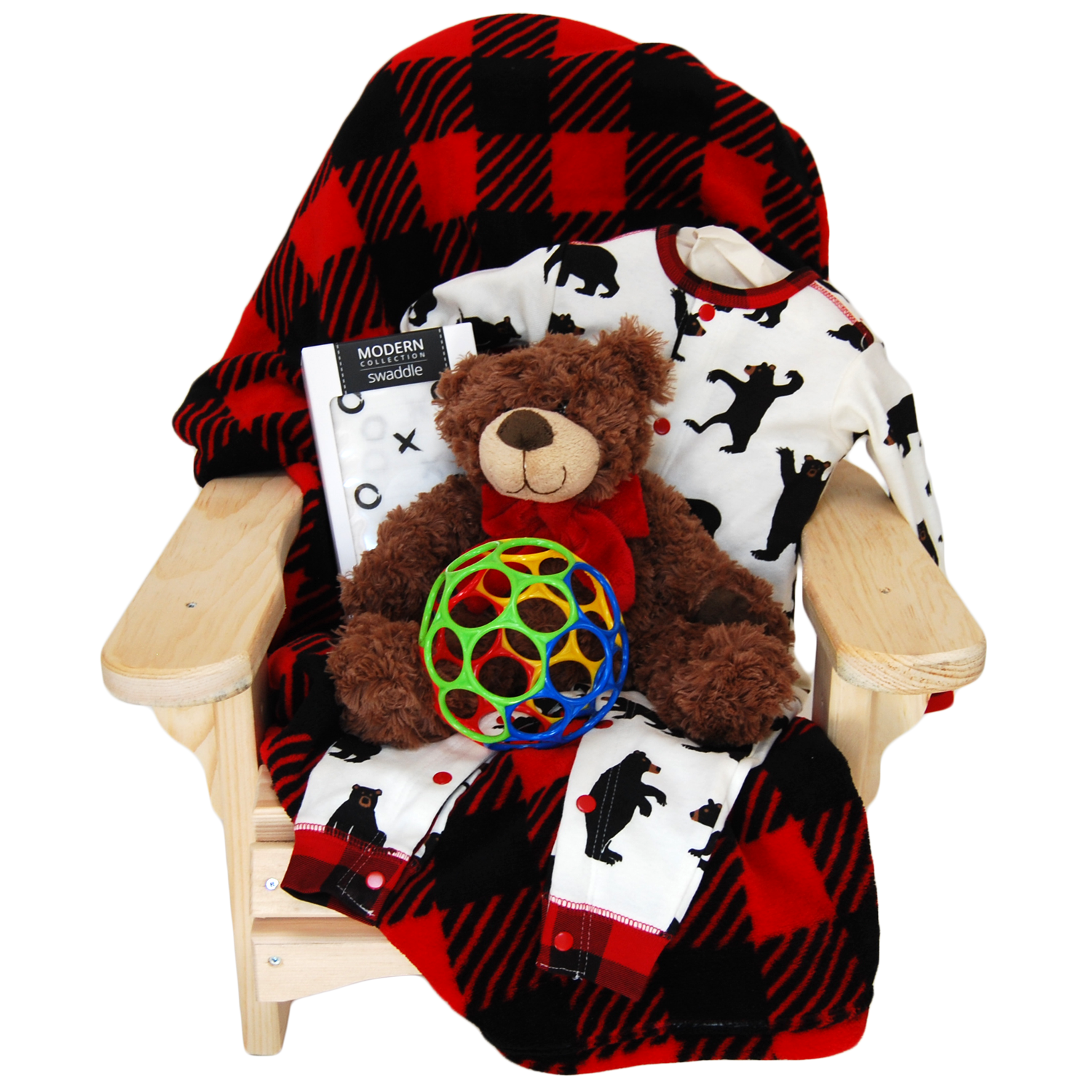 Muskoka Chair Bear